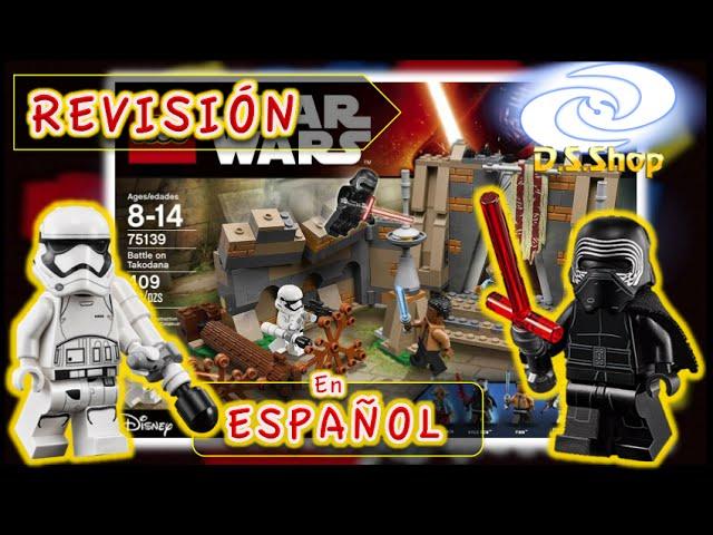 LEGO Star Wars The Force Awakens BATALLA EN TAKODANA Set 75139 Review de Juguetes en Español