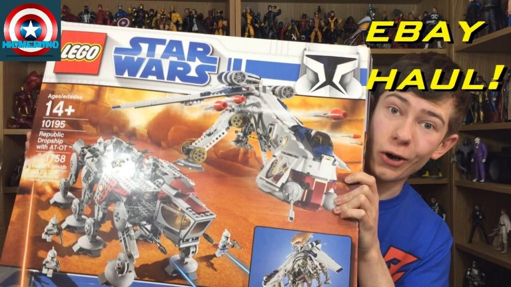 $1000+ Huge LEGO Star Wars eBay Haul & Unboxing