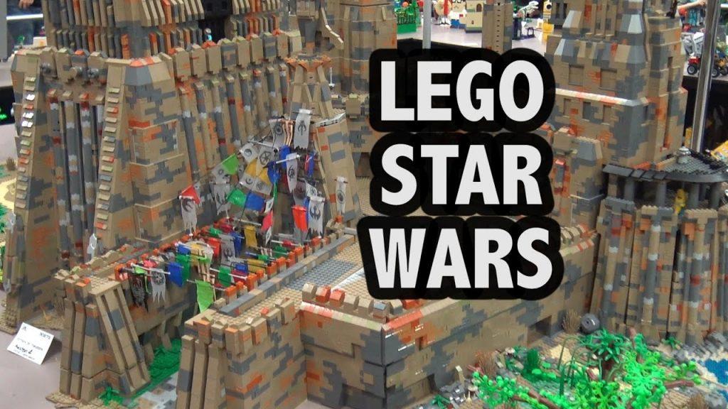 Huge LEGO Maz Kanata Castle on Takodana | Custom Star Wars