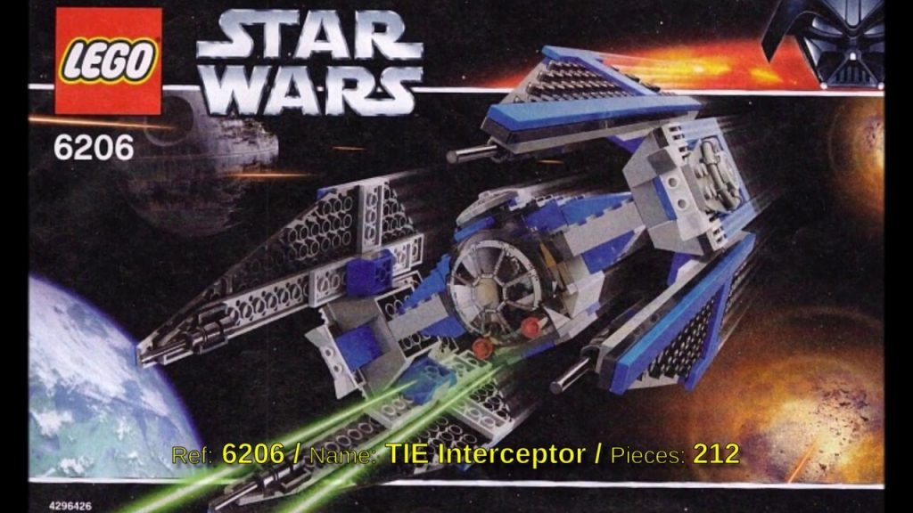 All Lego Star Wars sets from 2006