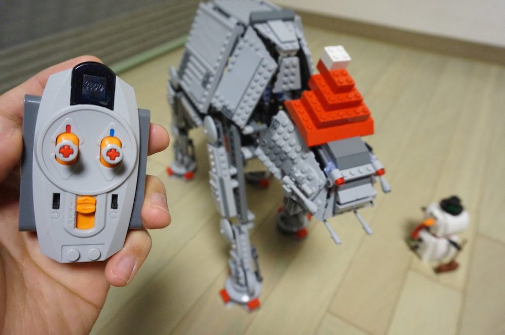 LEGO Star Wars AT-AT set 75054 – RC modifications & Christmas Special by 뿡대디