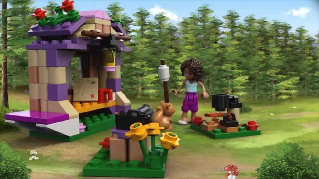 Andreas Mountain Hut  – LEGO Friends – Product Animation  41031