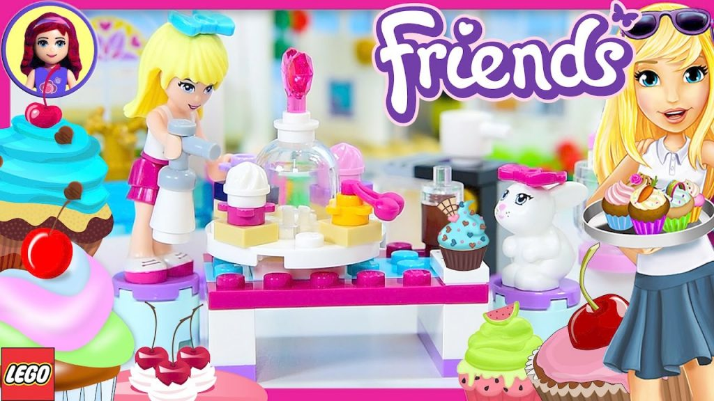 Stephanie's Friendship Cakes LEGO Friends Build Review Silly Play   Kids Toys