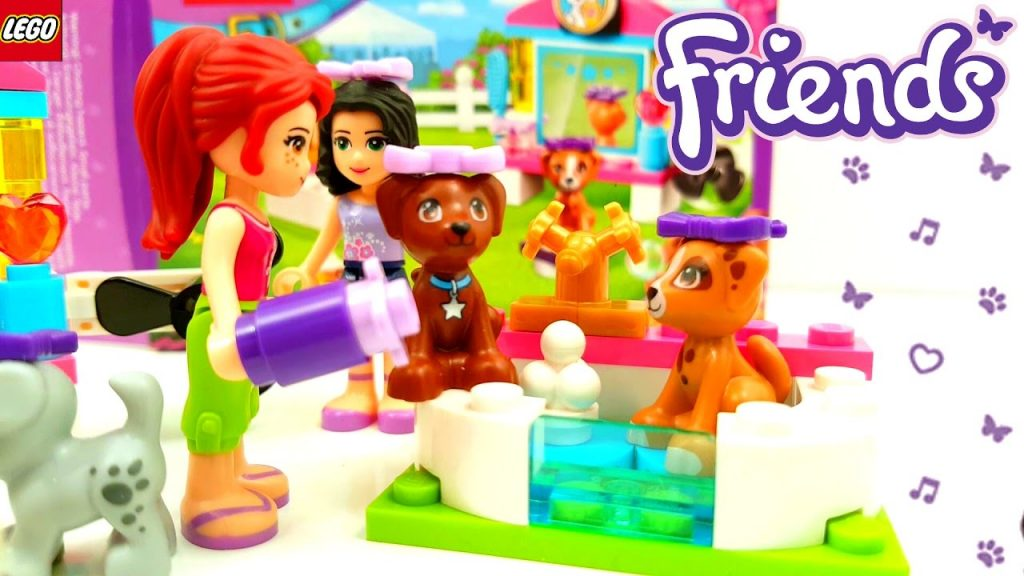 Lego Friends Puppy Pampering 2017 Building Review 41302