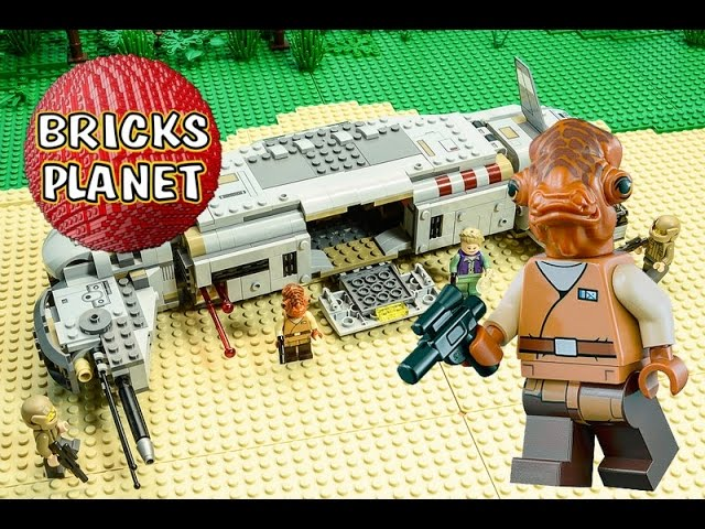 75140 Resistance Troop Transporter LEGO Star Wars – Stop Motion Review