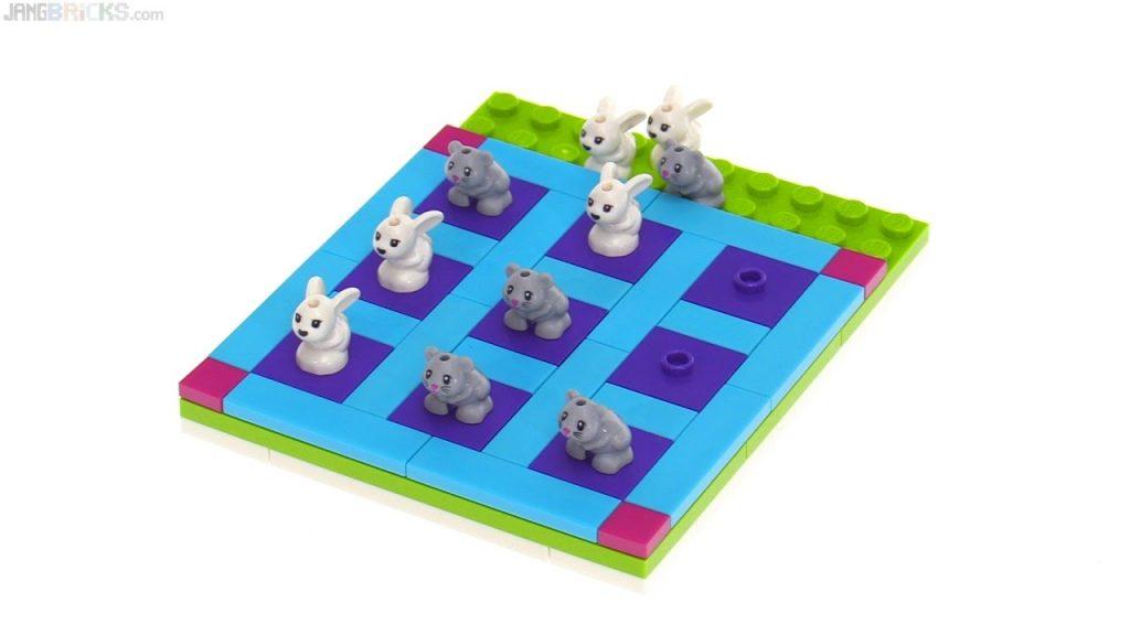 LEGO Friends Tic-Tac-Toe polybag! 🐰  vs 🐹