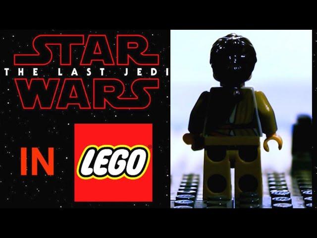 STAR WARS The Last Jedi TRAILER in LEGO!