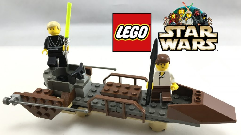 LEGO Star Wars Desert Skiff review! 2000 set 7104!