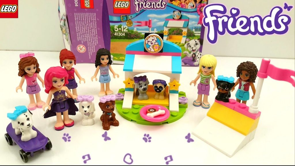 Lego Friends Puppy Treats & Tricks 2017 Building Review 41304