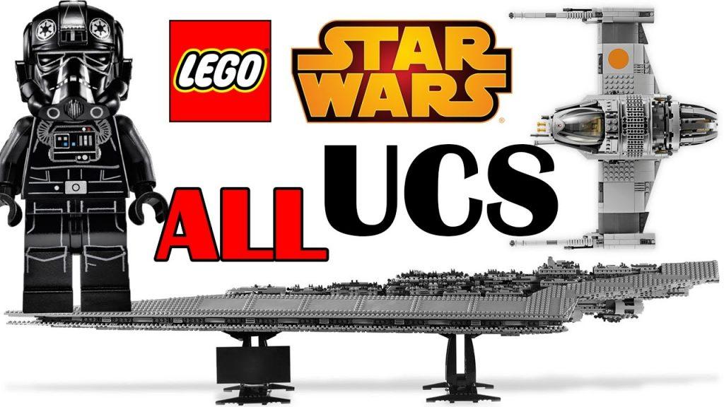 ALL LEGO Star Wars UCS Sets 2002-2017 + New Snowspeeder 75144