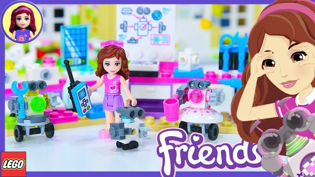Lego Friends Olivia's Creative Lab Build Review Silly Play Kids Toys