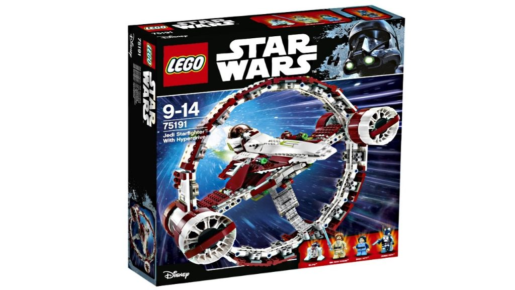 LEGO Star Wars 2017 Jedi Starfighter with Hyperdrive set pictures!