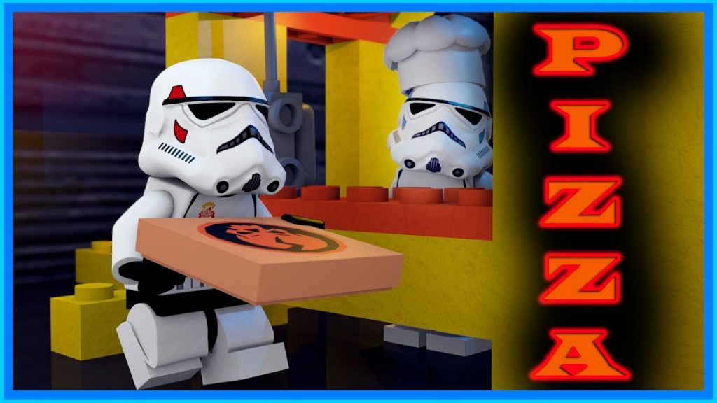 LEGO STAR WARS – PIZZA DELIVERY