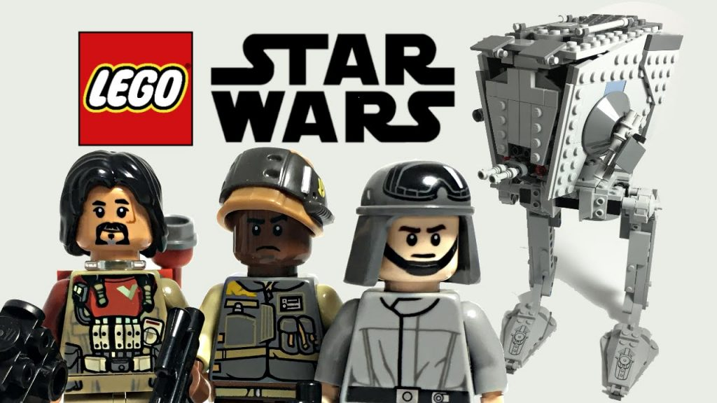 LEGO Star Wars Rogue One AT-ST Walker review! 75153!
