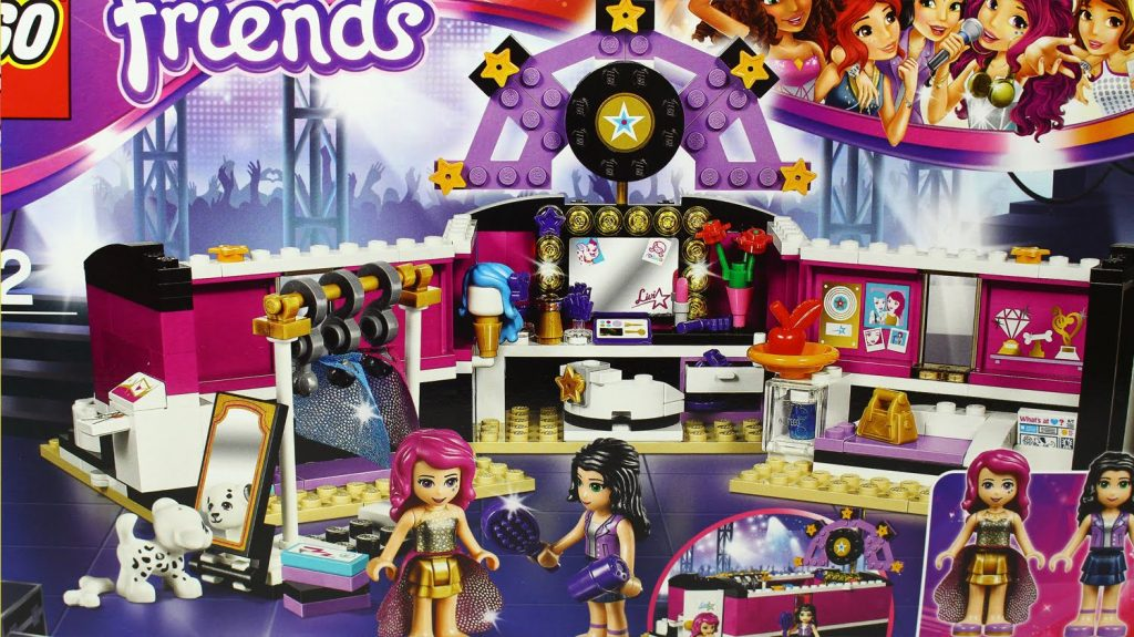Pop Star Dressing Room / Garderoba Gwiazdy Pop – Lego Friends – 41104 – MegaDyskont.pl