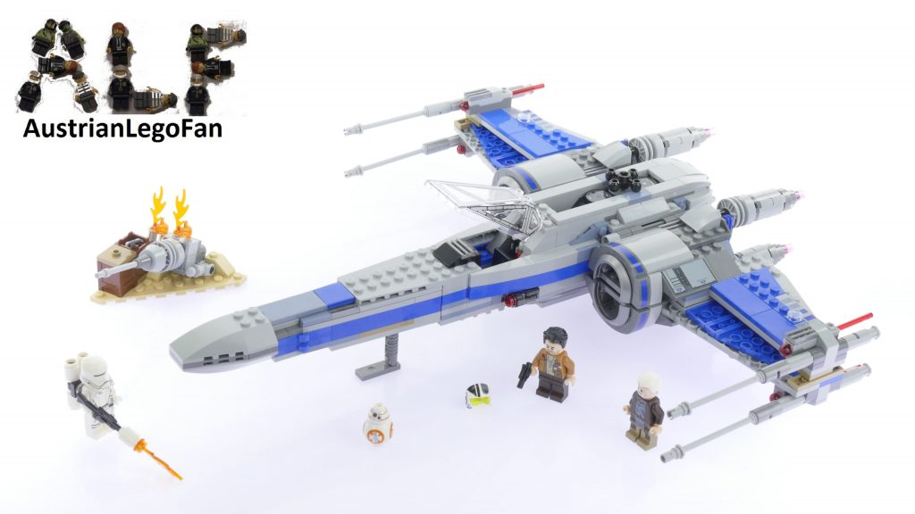 Lego Star Wars 75149 Resistance X-Wing Fighter™ – Lego Speed Build Review