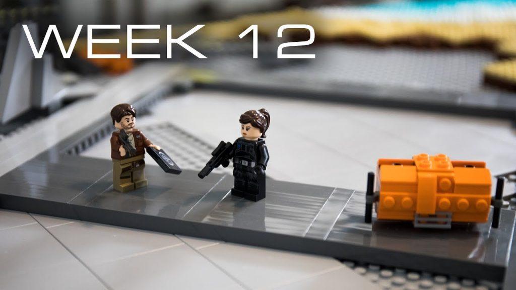 Building Scarif in LEGO – Week 12: Landing Pad