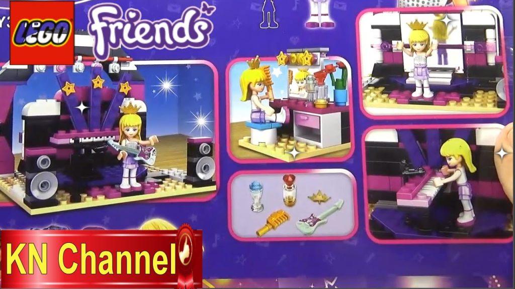 Đồ chơi trẻ em lắp ráp Lego Friends Sân khấu ca nhạc Music Theater Kids toys