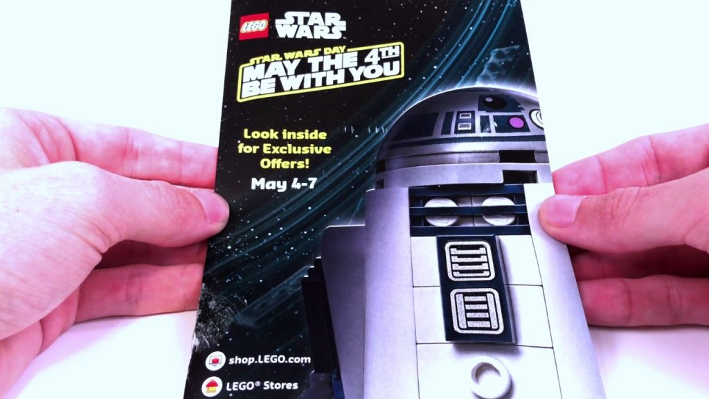 May The 4th Be With You 2017 – LEGO Star Wars Promotions!