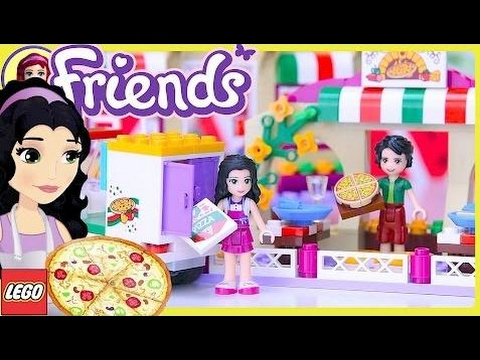 LEGO Friends Heartlake Pizzeria Build Review Silly Play – Kids Toys #