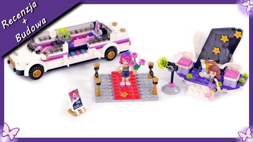 Limuzyna Gwiazdy Pop – Budowanie klocków Lego friends 41107