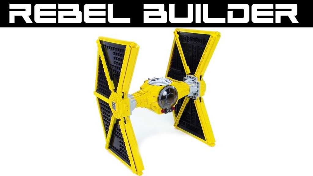 LEGO Star Wars Mining Guild TIE Fighter MOC!