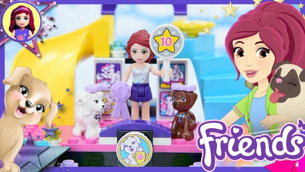 LEGO Friends Puppy Championship Build Review Silly Play Kids Toys