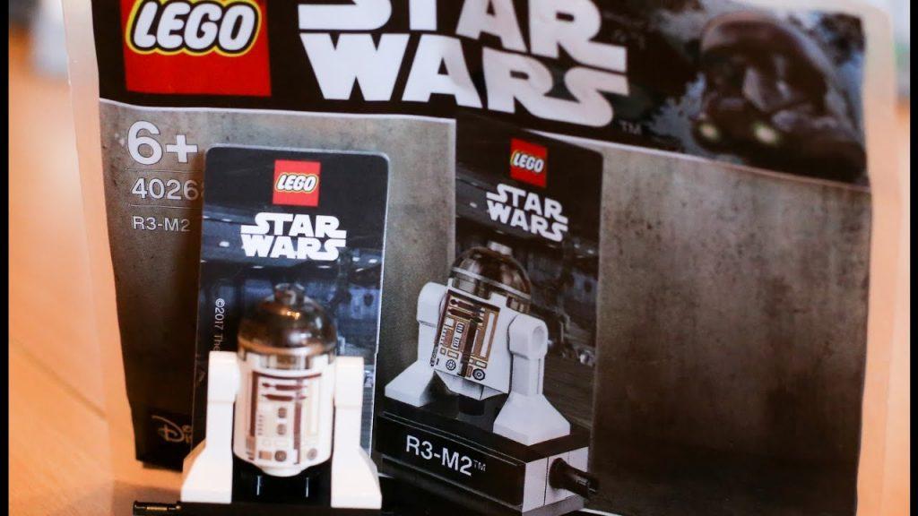 LEGO Star Wars R3-M2 Polybag und News (Klemmbausteinlyrik live)