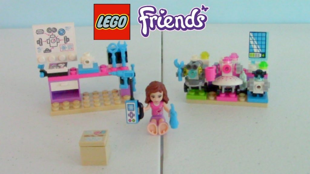 LEGO Friends Olivia's Creative Lab Speed Build