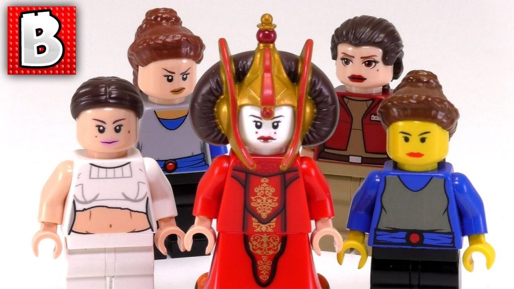 Every LEGO Padme Minifigure Ever Made!!! | Star Wars Collection Review