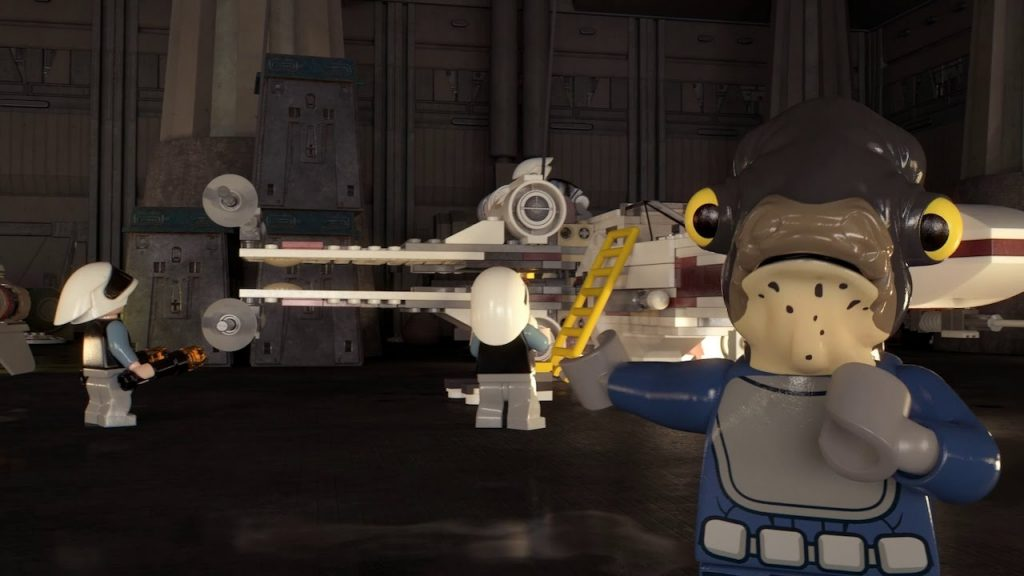 X-wing Challenge – LEGO Star Wars – Rogue One Red Squadron