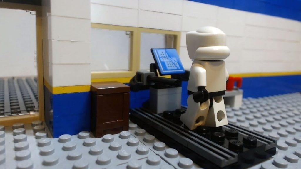 Lego Star Wars Gym Fail