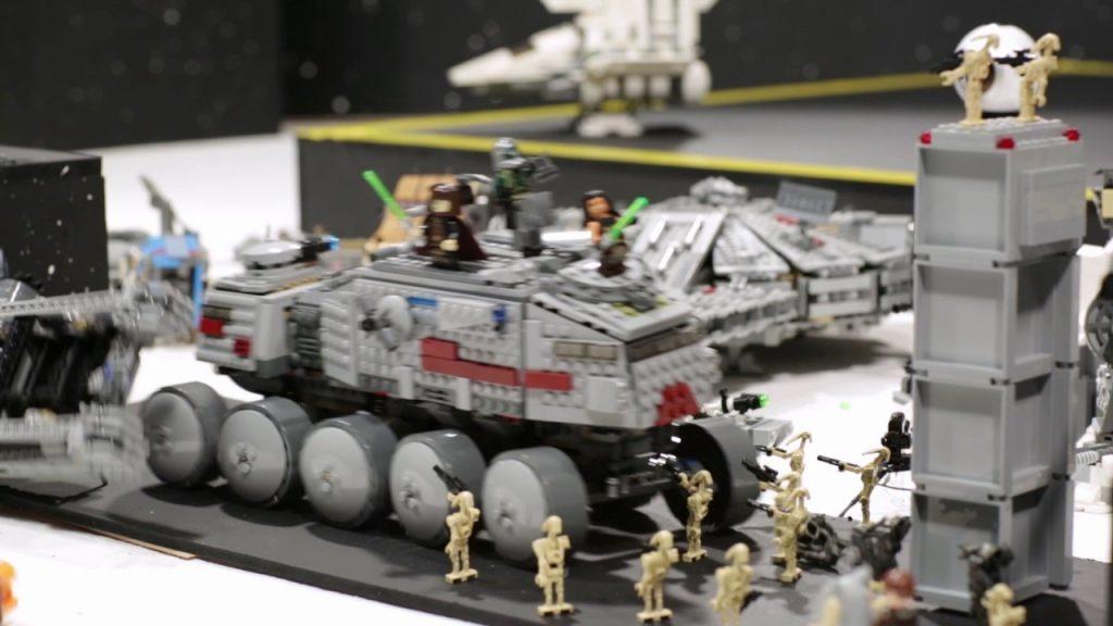 Death Star-Destroying Machine- LEGO Star Wars – Mini Movie