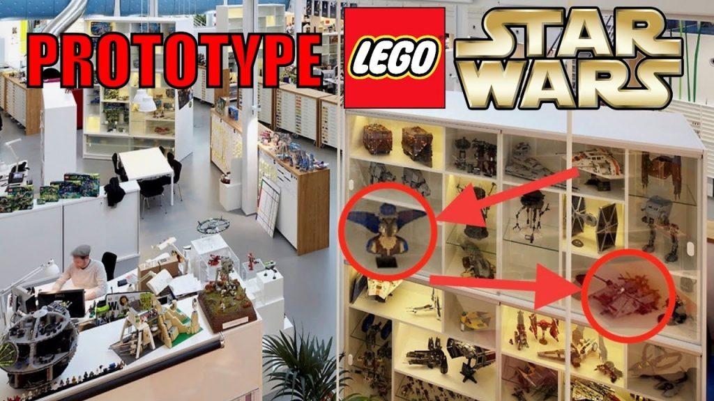 LEGO Star Wars PROTOTYPE Sets! LEGO Designer Offices! UCS Vulture Droid + RED Tie Interceptor!