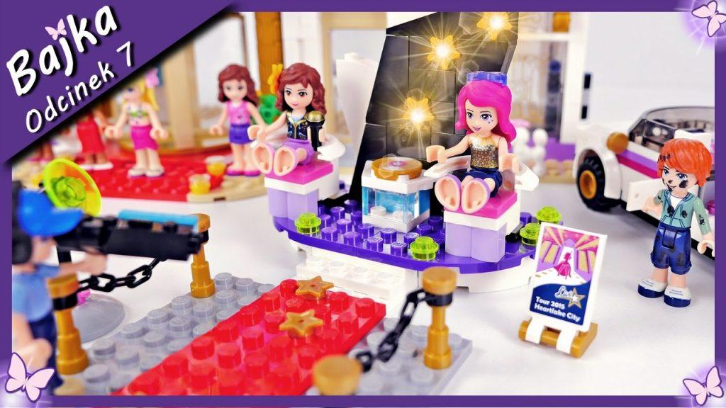 Zamiana Livi – Od gwiazdy pop do sprzątaczki – Bajka po polsku z klockami Lego Friends odc.7