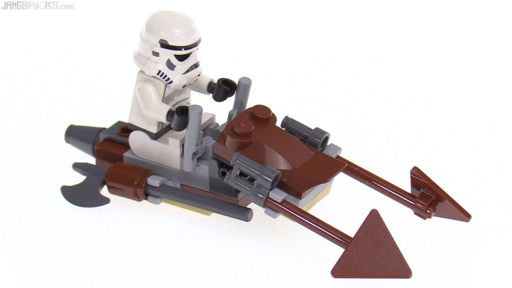 LEGO Star Wars Imperial Speeder Bike from 2009! polybag 30005