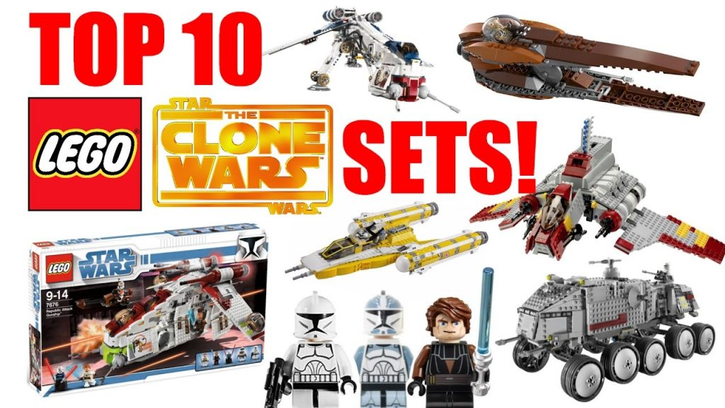 Top 10 LEGO Star Wars The Clone Wars Sets!