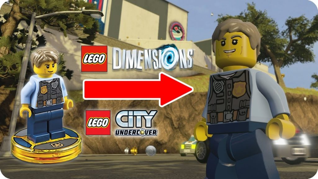 LEGO City ➡ LEGO Dimensions!
