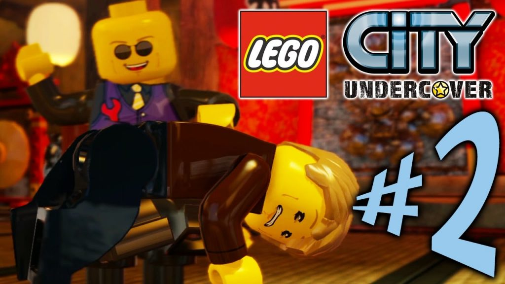 Lego City Undercover – Parte 2: Eu Sei Kung FU!!!! [ Xbox One – Playthrough ]