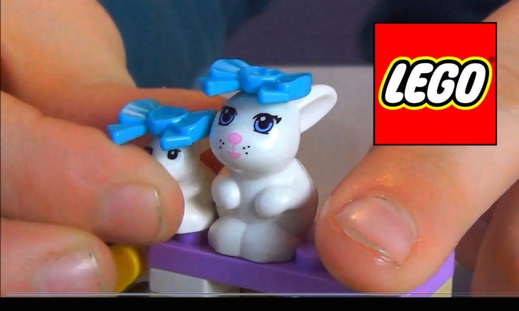 LEGO Friends zestaw na Wielkanoc Królik i maluchy 41087