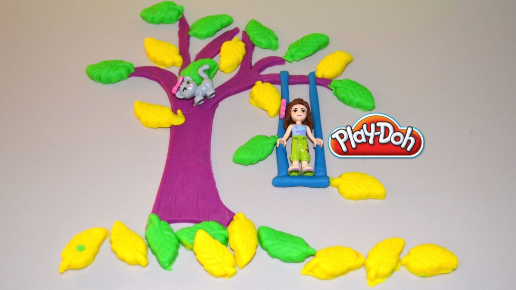 Play-Doh Lego Friends' Tree Swing – Play Dough Creation video