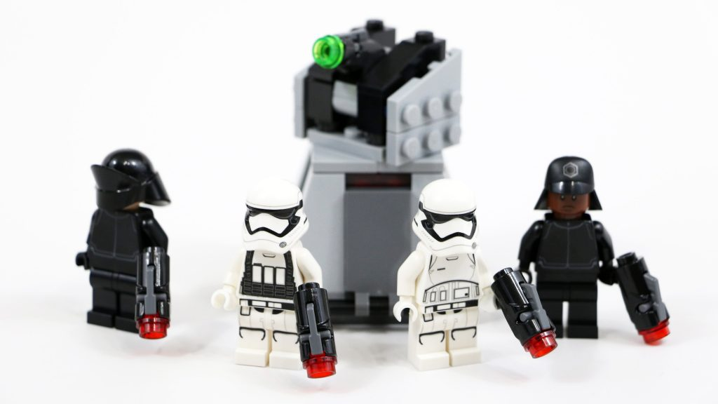 LEGO Star Wars First Order Battle Pack (Timelapse & Review) – Set 75132