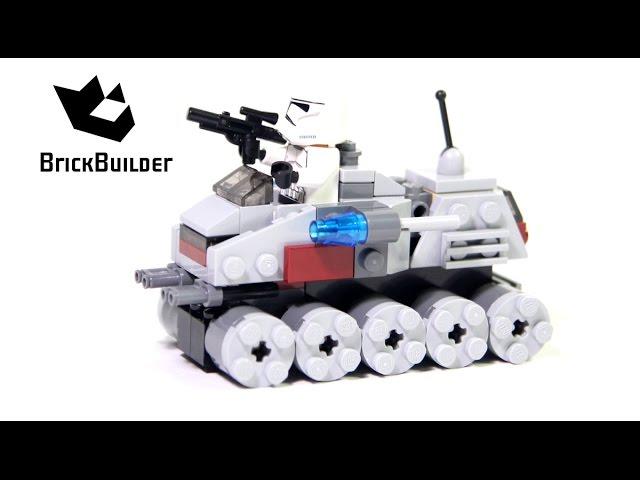Lego Star Wars 75028 Clone Turbo Tank – Lego Speed Build