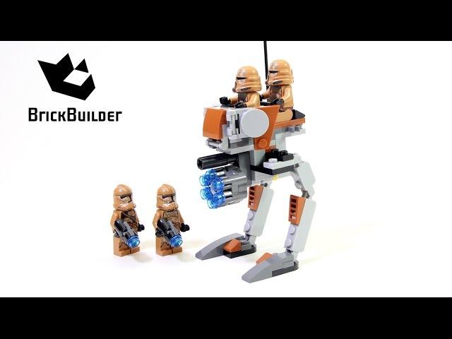 Lego Star Wars 75089 Geonosis Troopers – Lego Speed Build