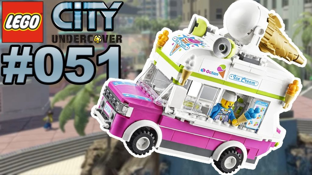 LEGO CITY UNDERCOVER #051 Eiswagen Stunts 🐲 Let's Play LEGO City Undercover [Deutsch]