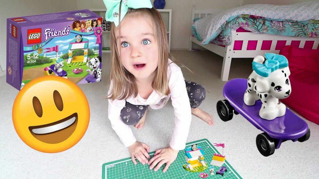 Let's Build Lego Friends Puppy Tricks Together | SuPeR SiEnNa