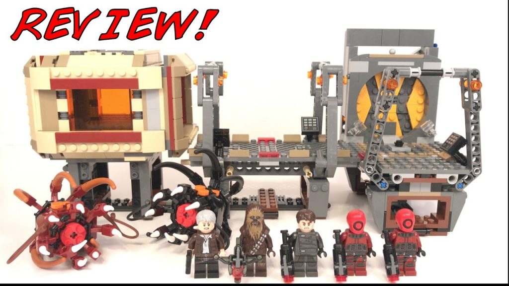 LEGO Star Wars Rathtar Escape Review! LEGO 75180 Review!