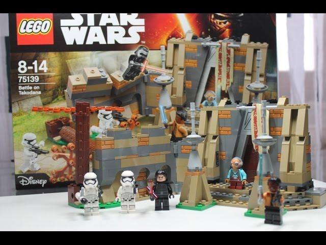 2016 LEGO Star Wars Set 75139 Battle on Takodana Unboxing & Review deutsch german