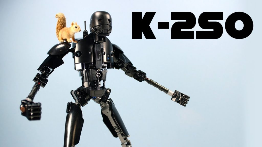 LEGO Star Wars Rogue One K-2SO Droid Set 75120 Review