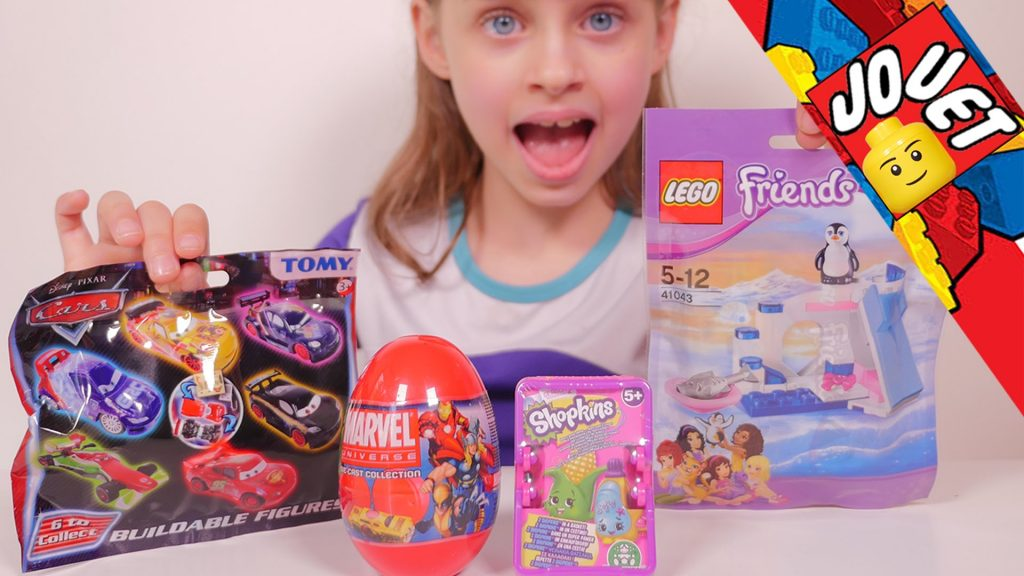[JOUET] Surprises Marvel, Shopkins, Disney Cars et Lego Friends
